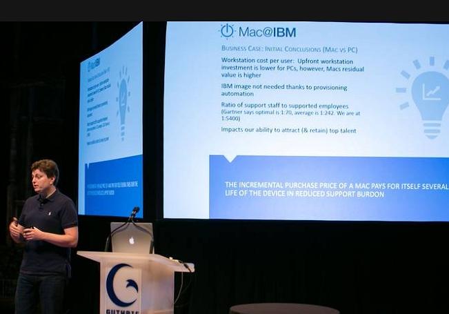 IBM實證顯示,使用Mac的員工工作效率更高、而且離職率也比較低