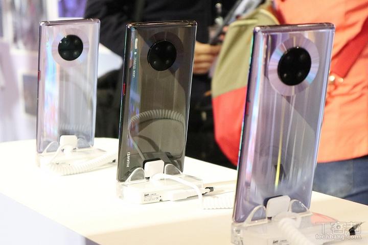 三萬有找!華為 Mate 30 Pro 即將在台開賣,未�載 Google GMS 服務、預購送三軸穩定器