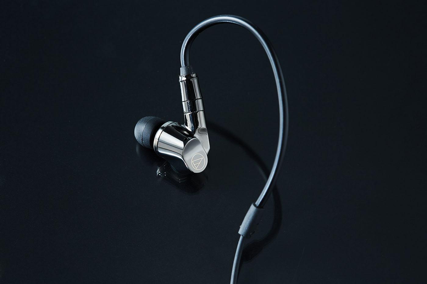 極致美聲,絕無他選,世界首款同軸混合四單體入耳式耳機:audio-technica ATH-IEX1