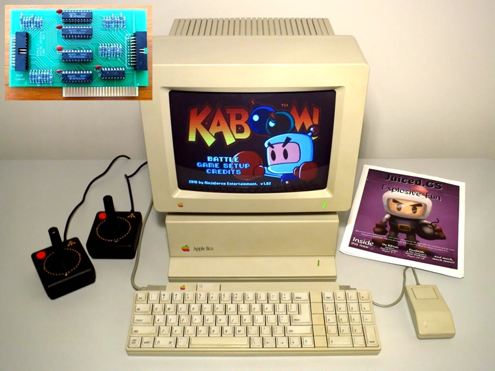 Apple IIGS,圖片來源:lukazi