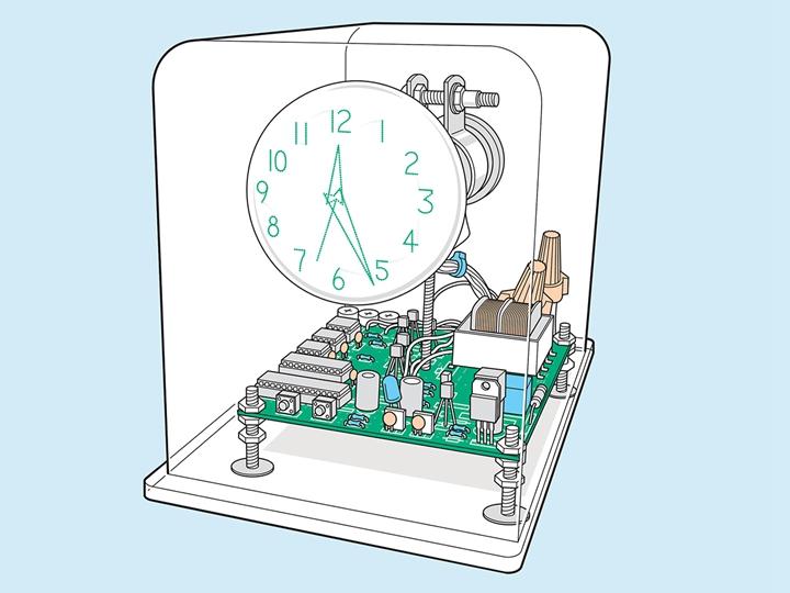 新年Geek手工:廢棄的電視不要扔!拆掉顯像管,改造一隻炫酷矢量時鐘