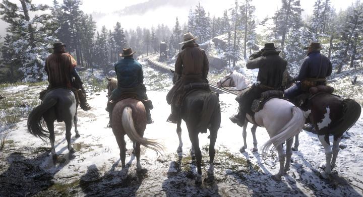 玩家要扮演范特林幫派的成員亞瑟.摩根,與黨羽們一同闖盪江湖。