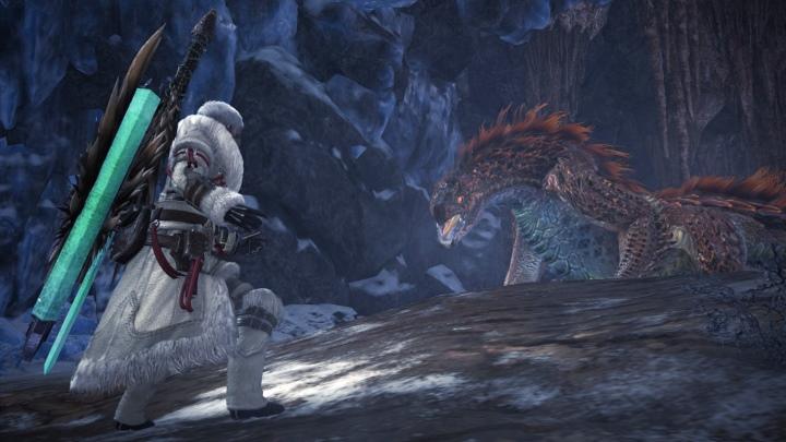 《Iceborne》的新環境以冰原為主,玩家會在這邊�遇許多新�物。