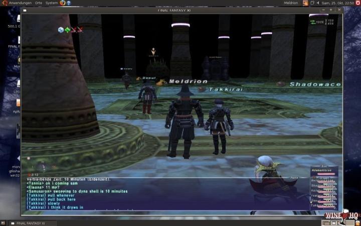 根據官方網站的資料庫的最新測試報告,Final Fantasy XI Online屬於「具有不影響�常使用的小問題」的銀級清單。(圖片來源:WineHQ,下同)