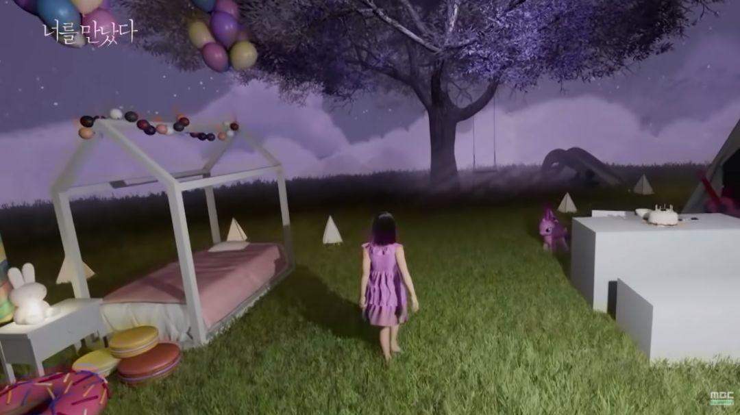 在虛擬現實裡,復活女兒的母親