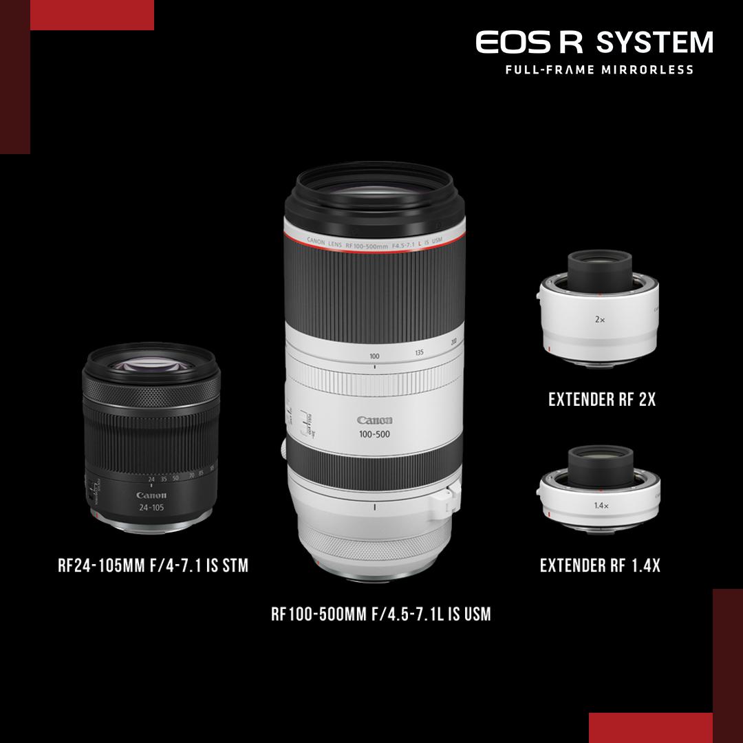Canon 發豪語:將於 2020 年推出 9 款 RF 鏡�,包含 24-105 與 100-500 L �鏡�