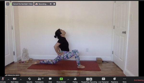 疫情催生居家健身風潮,Zoom線上健身課程讓健身計畫不間斷