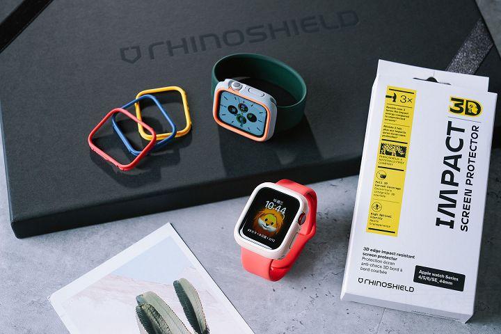 犀牛盾為 Apple Watch 推出專用保護殼及螢幕保護貼。