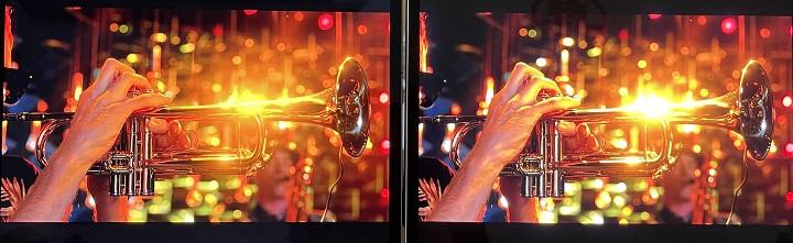 雖然採用 mini LED 顯示技術的 iPad Pro 12.9 吋帶來更漂亮的螢幕畫面,但mini LED 顯示技術還是有技術上的限制,例如在較亮的畫面上,有時就會出現過曝問題。