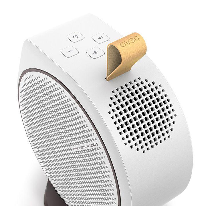GV30 搭載 2.1 聲道、16W 大喇叭,其中一顆是 8 瓦低音喇叭。