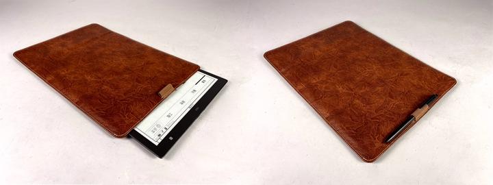 收納時開口處磁鐵可以完全閉合。