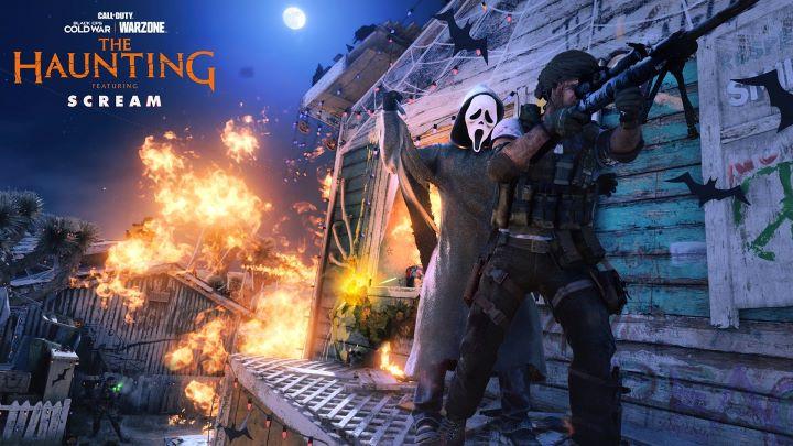 經典恐怖電影「驚聲尖叫」鬼臉殺人�登場,化身特戰兵陪玩家大開殺戒。